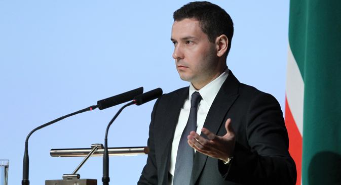 Il direttore generale del Comitato dei XXVII Giochi universitari mondiali del 2013, Vladimir Leonov (Foto: Ria Novosti)