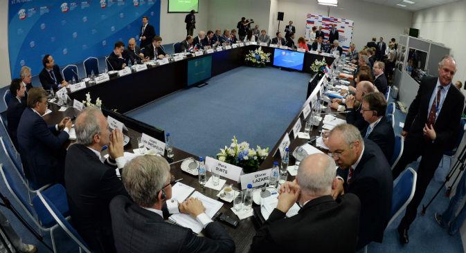 Ha preso il via a San Pietroburgo la 17ma edizione del Forum Economico internazionale (Foto: Alexei Danichev / Ria Novosti)