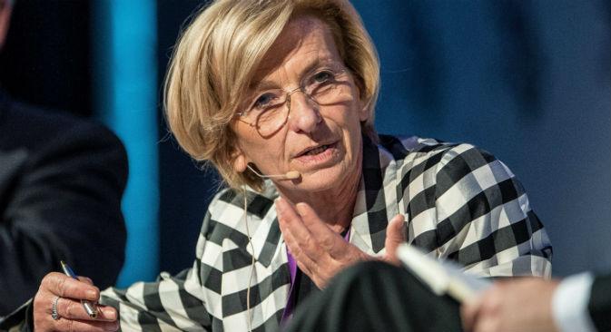 Il ministro degli Esteri italiano Emma Bonino (Foto: Itar-Tass)