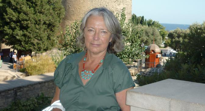 Anna Worontzoff-Weliaminoff, nota linguista e discendente di Pushkin (Foto: archivio personale)