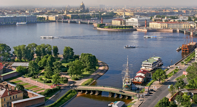 San Pietroburgo è tra le migliori destinazioni turistiche della Top-25 di TripAdvisor 2013 (Foto: Aleksandr Petrosyan)