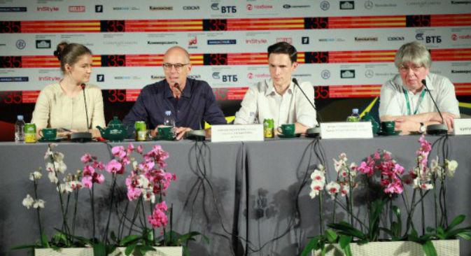 """Gabriele Salvatores presenta il suo film """"Educazione Siberiana"""" al Festival internazionale del Cinema di Mosca (Foto: www.moscowfilmfestival.ru)"""