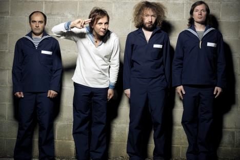 La band dei Mumiy Troll al completo (Foto: AP)