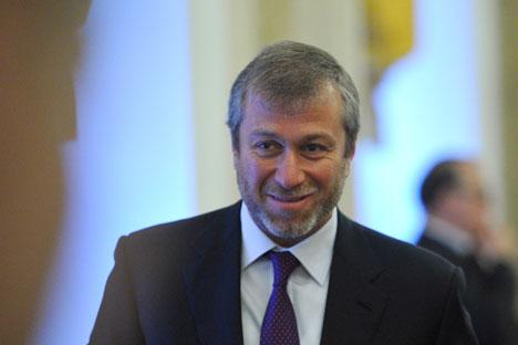 L'oligarca russo Roman Abramovich, patron del Chelsea dal 2003 (Foto: RIA Novosti / Alexei Kudenko)