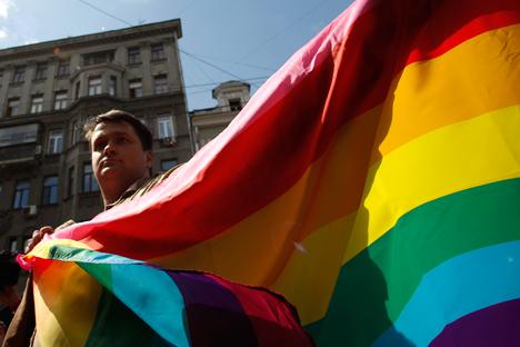 I gay russi sono dei combattenti? Alcuni rivendicano la propria omosessualità, altri si nascondono (Foto: Reuters)