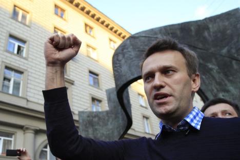 Il blogger dell'opposizione russa Alexei Navalny (Foto: Reuters)