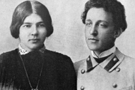 Il poeta Aleksandr Blok insieme a Liubov Mendeleeva (Foto: Ria Novosti)