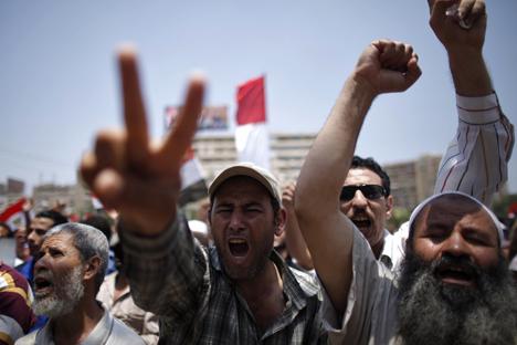 In Egitto, l'islam politico ha il suo volto nei Fratelli Musulmani ma sta soffrendo una sconfitta schiacciante (Foto: Reuters)