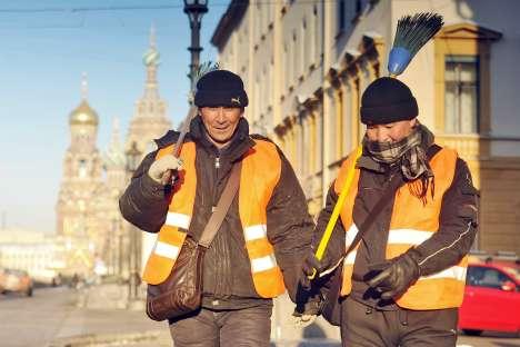 Anche dall'Asia Centrale arrivano lavoratori immigrati in cerca di un impiego (Foto: Itar-Tass)