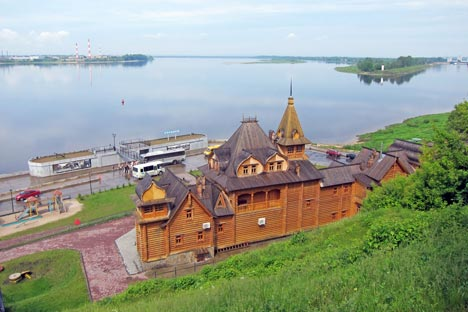 Insediamenti sulle rive del Volga (Vsevolod Pulya/Russia Oggi)