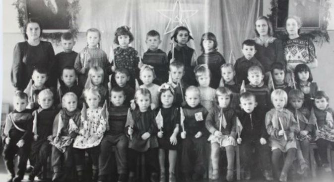 Antes de se tornarem comunistas, crianças da URSS passavam por várias etapas Foto: Tatiana Korablinova