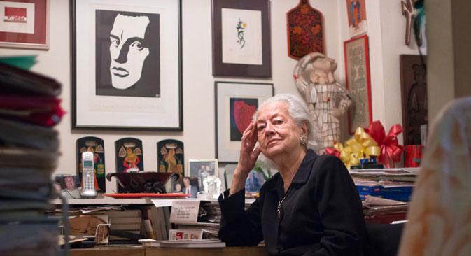 """Patricia Thompson: """"Non sto semplicemente dicendo di essere la figlia di Majakovskij; posso provarlo con tutti i documenti"""" (Foto: Tinker Coalescing)"""