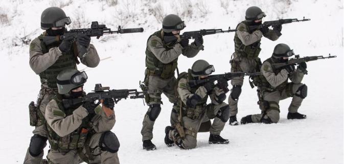 L'addestramento delle nuove forze speciali russe (Foto: O. Balachova / Ufficio Stampa del Ministero russo della Difesa)