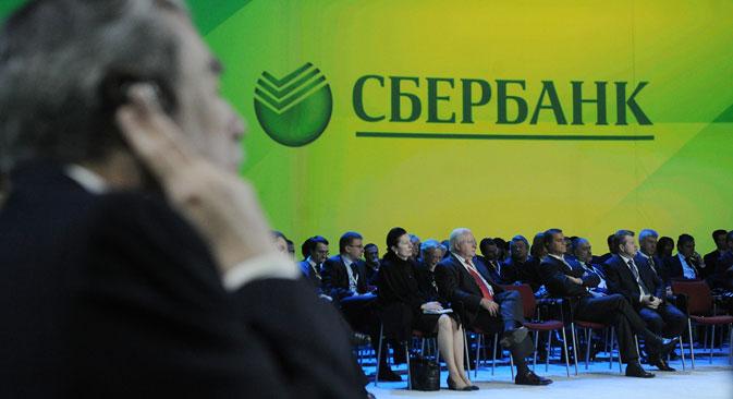 Sberbank è leader di mercato in quasi tutti i servizi finanziari disponibili in Russia (Foto: Itar-Tass)