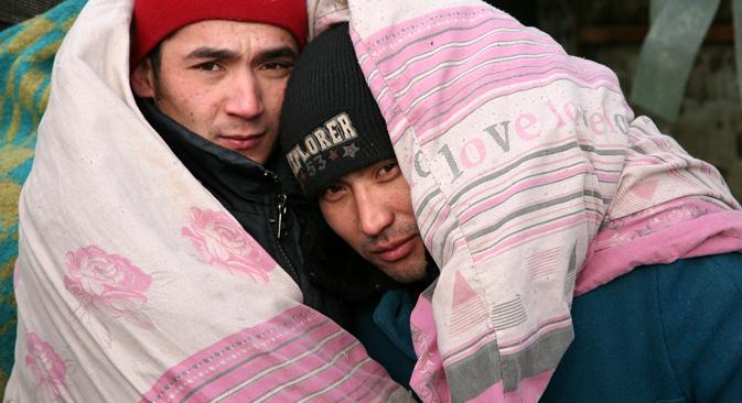 Nel 2012 le autorità russe hanno espulso 11.000 individui per violazioni delle leggi sull'immigrazione (Foto: Itar-Tass)
