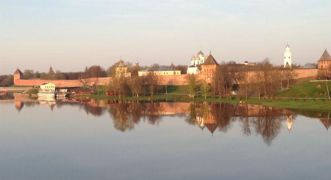 Veliky Novgorod sorge non lontano da San Pietroburgo, sul fiume Volkhov (Foto: Lucia Bellinello / Russia Oggi)
