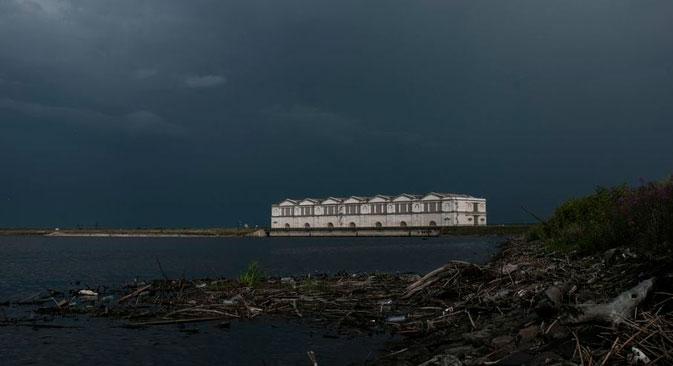 Il bacino idrico di Rybinsk (Foto: Konstantin Salomatin)