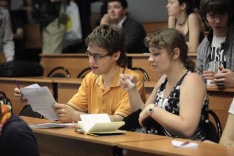 Secondo uno studio, le università russe occupano l'undicesimo posto a livello mondiale per la quantità di denaro che ricevono dalle grandi aziende (Foto: PhotoXpress)