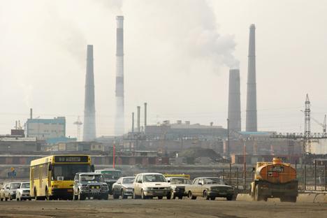 Norilsk, nella Siberia settentrionale, detiene il primato di città più inquinata della Russia insieme a Mosca e San Pietroburgo (Foto: Itar-Tass)