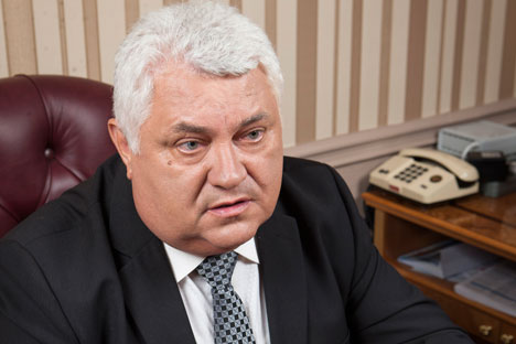 Yuri Maevskij, capo progettista del gruppo Radioelektronnye Tekhnologii (Foto: Ufficio Stampa)