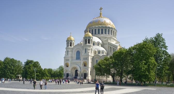 Un'immagine della cattedrale di Kronstadt (Foto: William Brumfield)