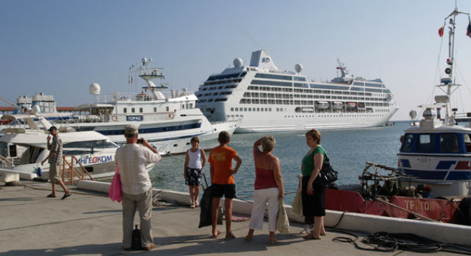 Le navi da crociera verranno usate come alberghi galleggianti durante i Giochi invernali di Sochi 2014 (Foto: PhotoXPress)