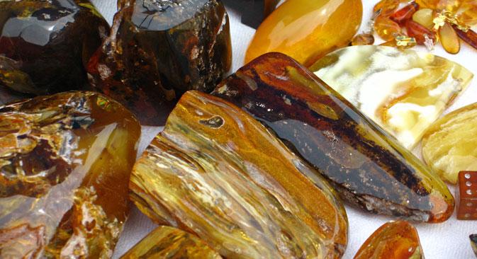 L'economia russa investe sulla lavorazione dell'ambra (Foto: Photoxpress)