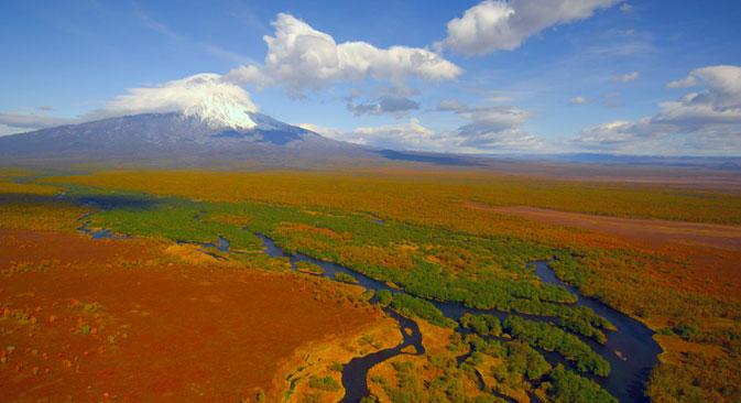 Gli immensi spazi della penisola di Kamchatka (Foto: Igor Shpilenok)