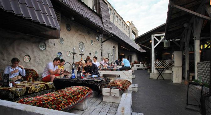 I moscoviti spendono 30 volte di più per mangiare fuori rispetto a dieci anni fa (Foto: Ria Novosti)