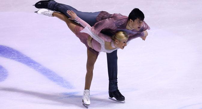 I campioni di pattinaggio Maksim Trankov e Tatiana Volosozhar (Foto: Itar-Tass)