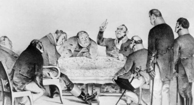 """""""L'ispettore generale"""" di Nikolaj Gogol è un'opera satirica sull'avidità umana, la stupidità e la corruzione della Russia imperiale (Foto: Itar-Tass)"""