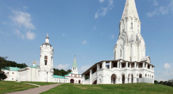 La Chiesa dell'Ascensione di Kolomenskoe (Fonte: Kultura.rf)