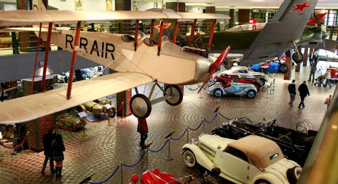 Il Museo della Tecnologia di Mosca espone auto, aerei e carri armati dei primi del Novecento (Foto: Lori / Legion Media)