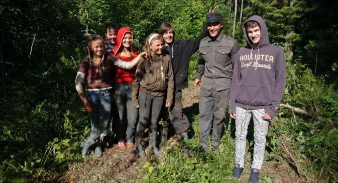 I giovani della numerosa famiglia Solovey (Foto: Ruslan Sukhushin)