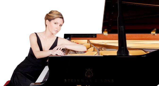 A soli 25 anni Vanessa Benelli Mosell è considerata una delle interpreti di maggior successo nel panorama musicale internazionale. Ha studiato in Russia a fianco dei più grandi musicisti dell'Est (Foto: Barbara Rigon / Ufficio Stampa)
