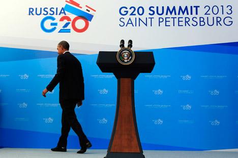 Nonostante la contrarietà della Russia, il presidente americano Barack Obama insiste per un intervento militare in Siria (Foto: Reuters)