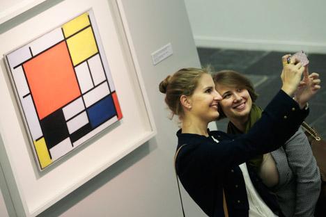 L'ultimo Mondrian ha influenzato notevolmente l'arte contemporanea (Foto: Itar-Tass)