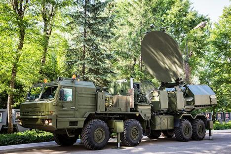 Il sistema mobile della serie Krasukha (Foto: Ufficio Stampa/Kret)