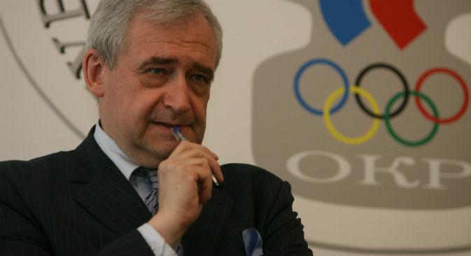 Nikolai Dolgopolov, giornalista sportivo, vice caporedattore del quotidiano Rossiyskaya Gazeta (Foto: Viktor Vasenin / RG)