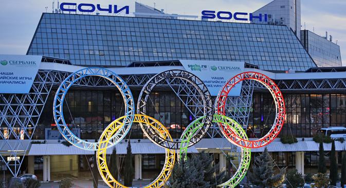 Biglietti in vendita sul sito ufficiale dei XXII Giochi Olimpici invernali di Sochi 2014 (Foto: Photoshot / Vostock Photo)
