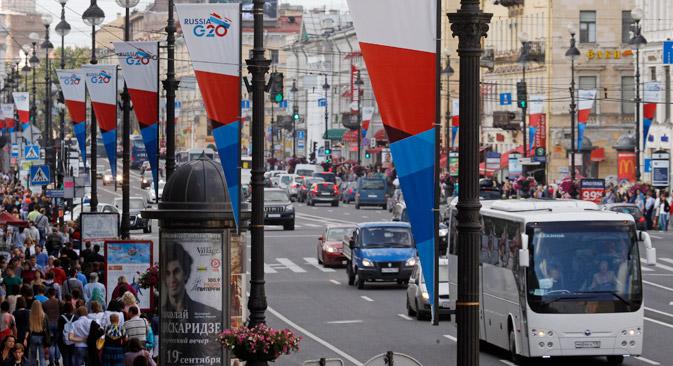 La Russia che presiede il G20 del 2013 a San Pietroburgo ha speso 215 milioni di dollari per l'organizzazione del summit (Foto: Reuters)