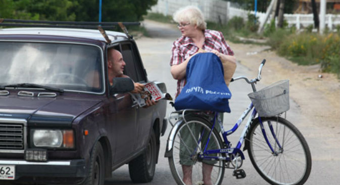 """Secondo la Scuola di Management """"Skolkovo""""  in dieci anni scompariranno postini e corrieri (Foto: Itar-Tass)"""