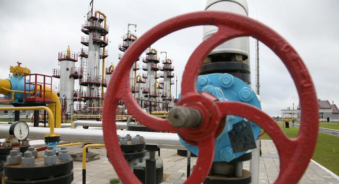 Nel 2012 la Federazione Russa ha fornito ai Paesi dell'Unione Europea 160 milioni di tonnellate di petrolio e 125 miliardi metri cubi di gas naturale (Foto: Itar-Tass)