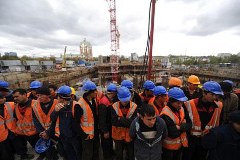 La lotta all'immigrazione illegale è in cima alla lista delle priorità della classe politica russa (Foto: Photoshot / Vostock Photo)