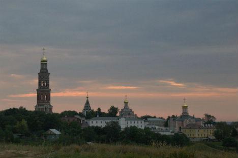 Una veduta di Konstantinovo, paese natale del poeta Sergei Esenin (Foto: padre Avel / per gentile concessione di Natalia Stepanova)