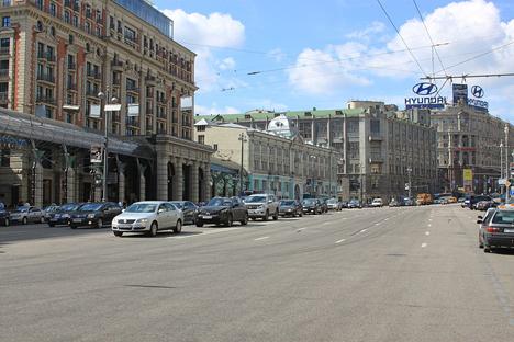 A causa della crisi immobiliare, i prezzi al metro quadro in via Tverskaya sono considerevolmente calati (Foto: Ufficio Stampa)