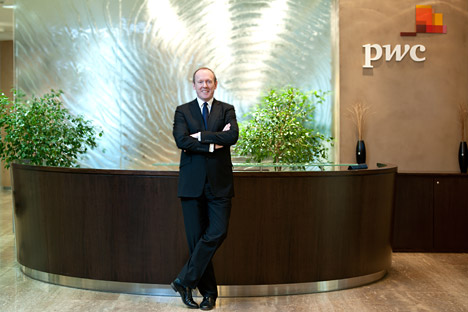 David Gray, managing partner di PwC Russia (Foto: Ufficio Stampa)