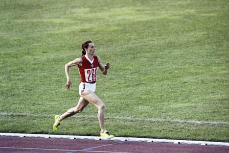 L'atleta sovietica Tatjana Kazankina (Foto: Yuri Somov / Ria Novosti)