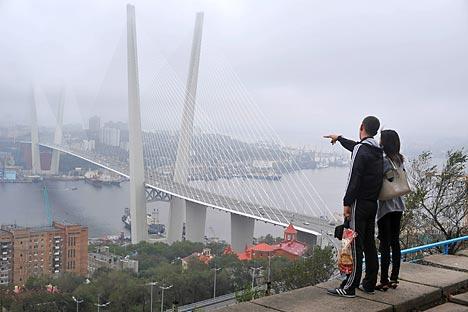 A Vladivostok, capitale degli investimenti nell'Estremo Oriente russo (Foto: RIA Novosti)
