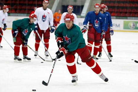 Vjacheslav Fetisov, uno dei simboli dell'hockey sovietico (Foto: Reuters)